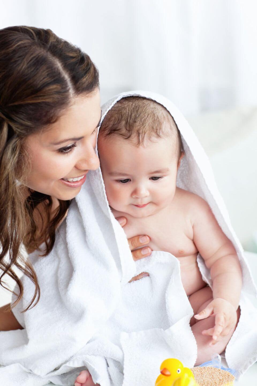 как часто мыть новорожденного ребенка
