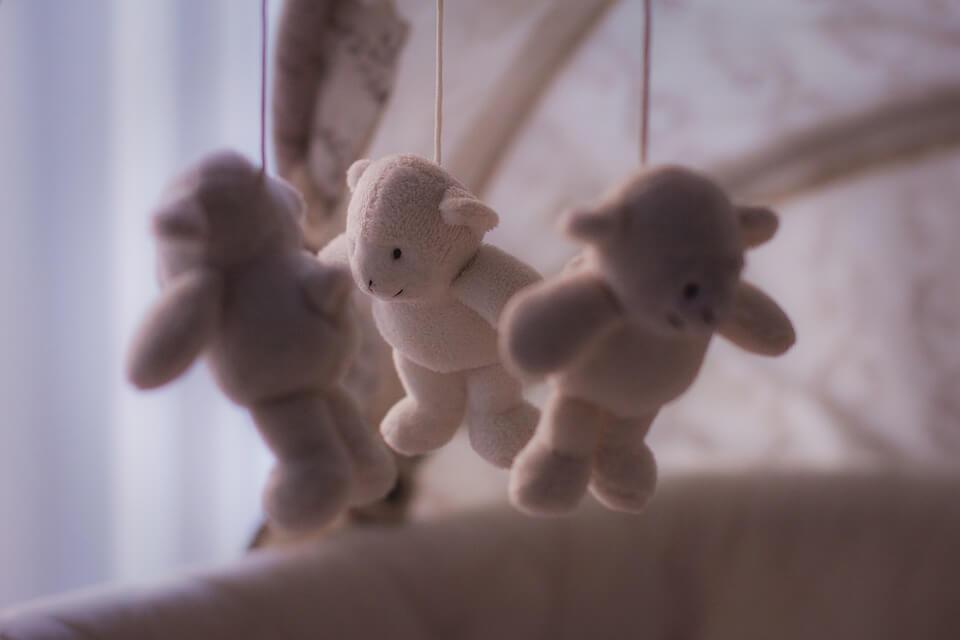 белый сон для малыша
