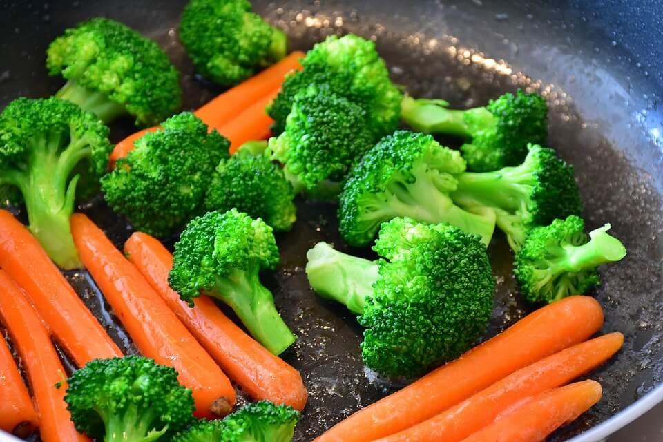 тушеные овощи для кормящей