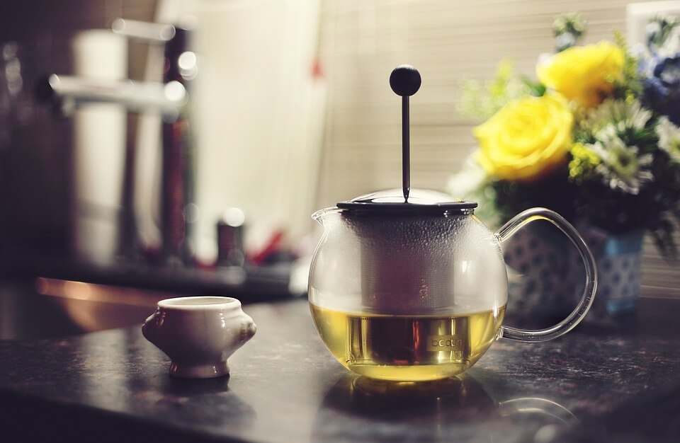 зеленый чай детям