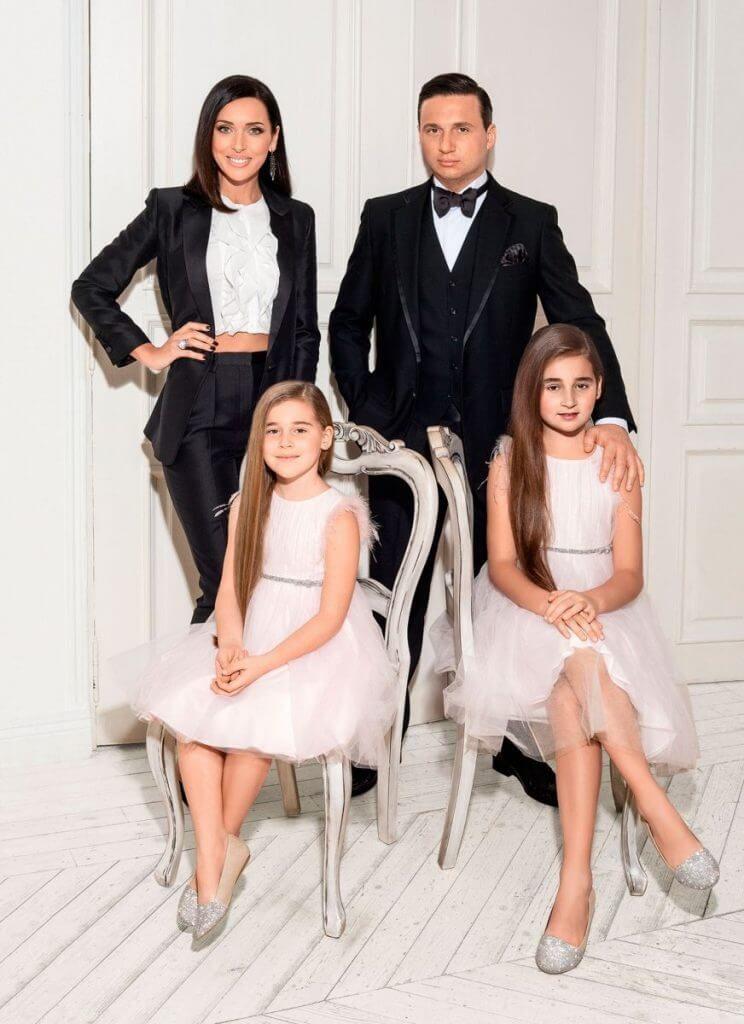 алсу с мужем и детьми