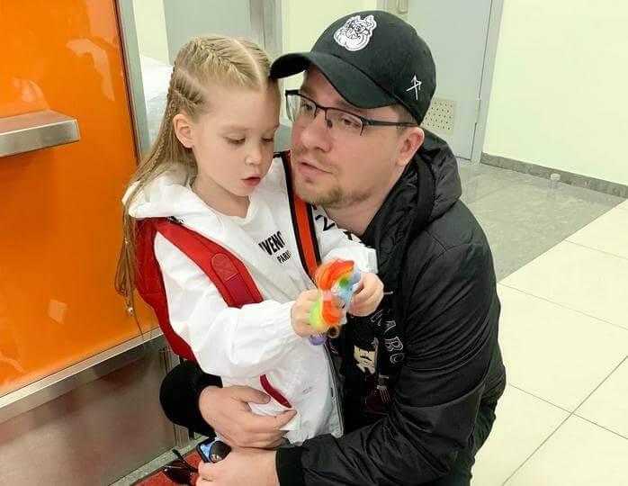 ребенок кристины асмус фото