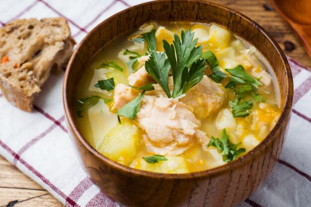 рыбный суп рецепт для ребенка