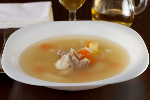 рыбный суп для ребенка 1