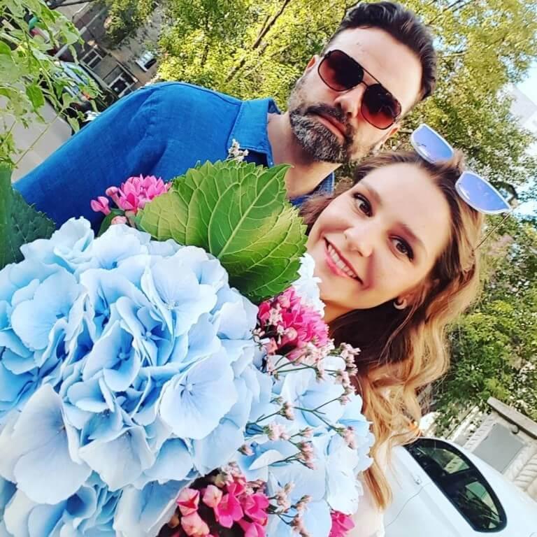 глафира тарханова фото с мужем