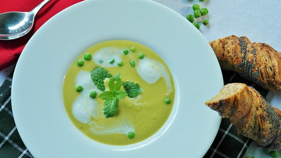 суп с зеленым горошком детям