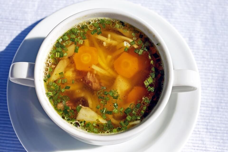 суп с говядиной для детей