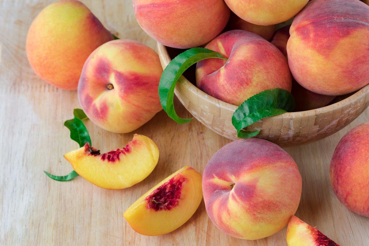 персики для детей