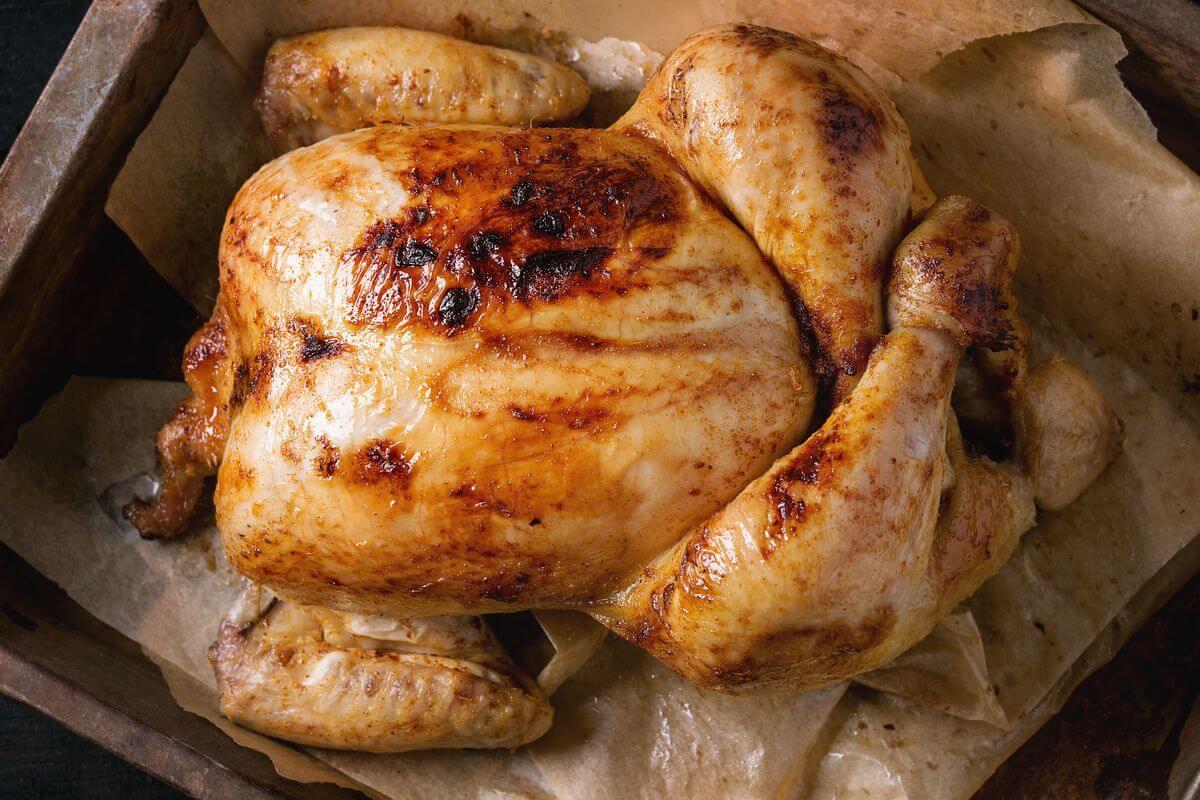 курица в духовке ребенку