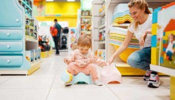 Как выбрать горшок для ребенка: 10 важных правил