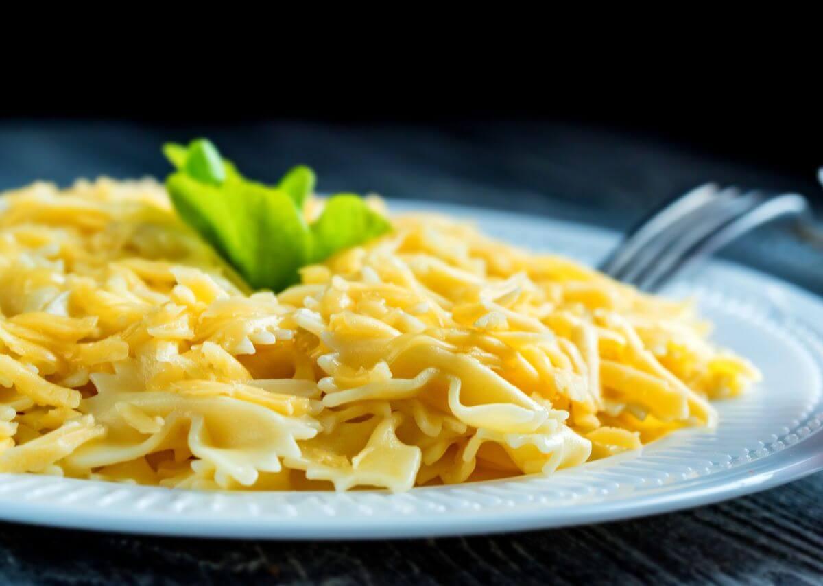 макароны с сыром детям