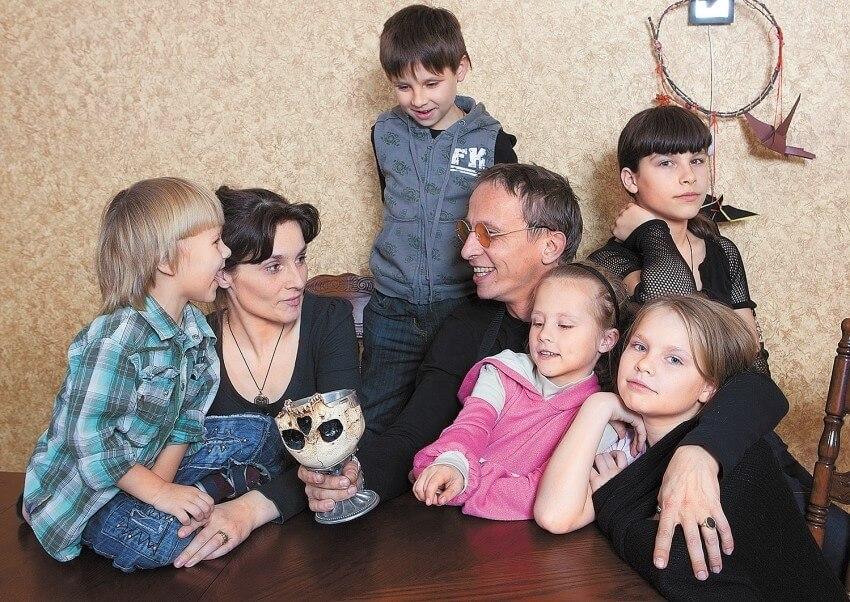охлобыстин жена и дети