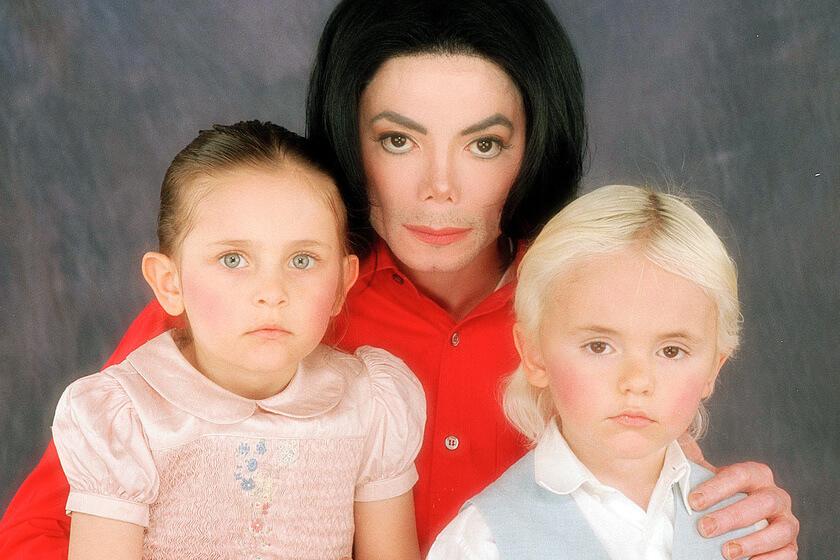 дети майкла джексона фото