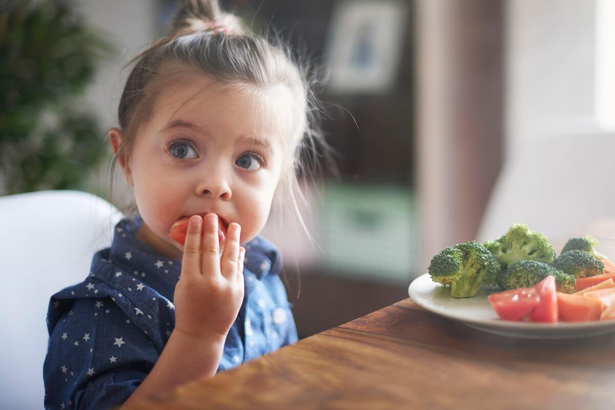 про правильное питание детям