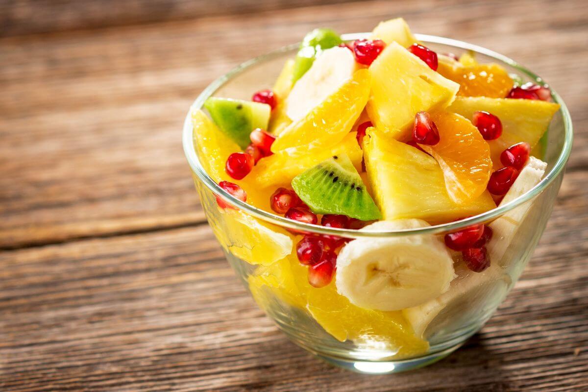 фруктовый салат для детей