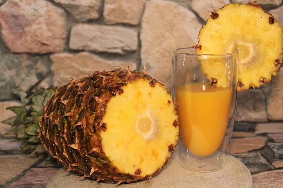 можно ли детям ананас