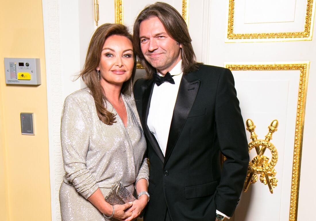 Дмитрий Маликов с Еленой Изаксон