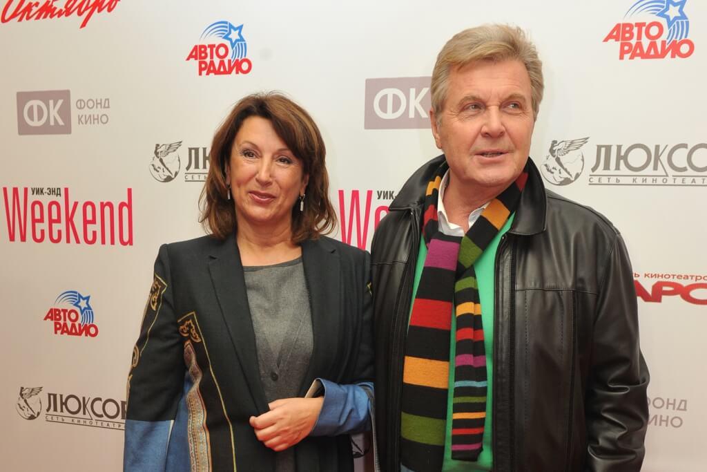 лещенко с женой фото
