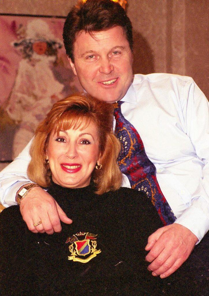 лещенко с женой