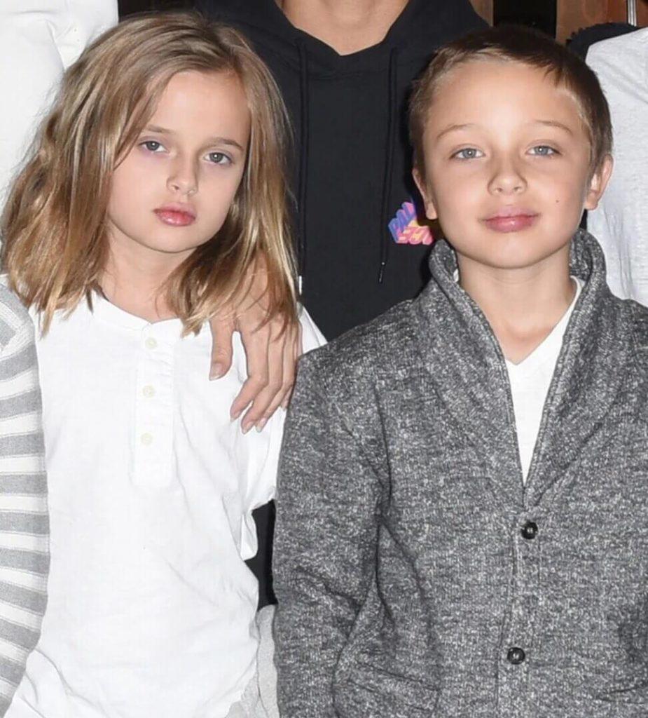 Нокс Леон и дочка Вивьен Маршелин