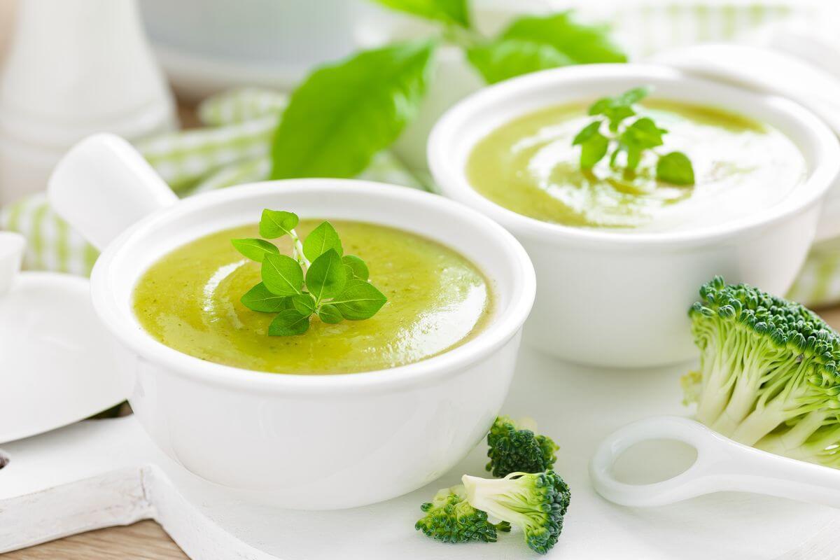 суп пюре из брокколи для ребенка