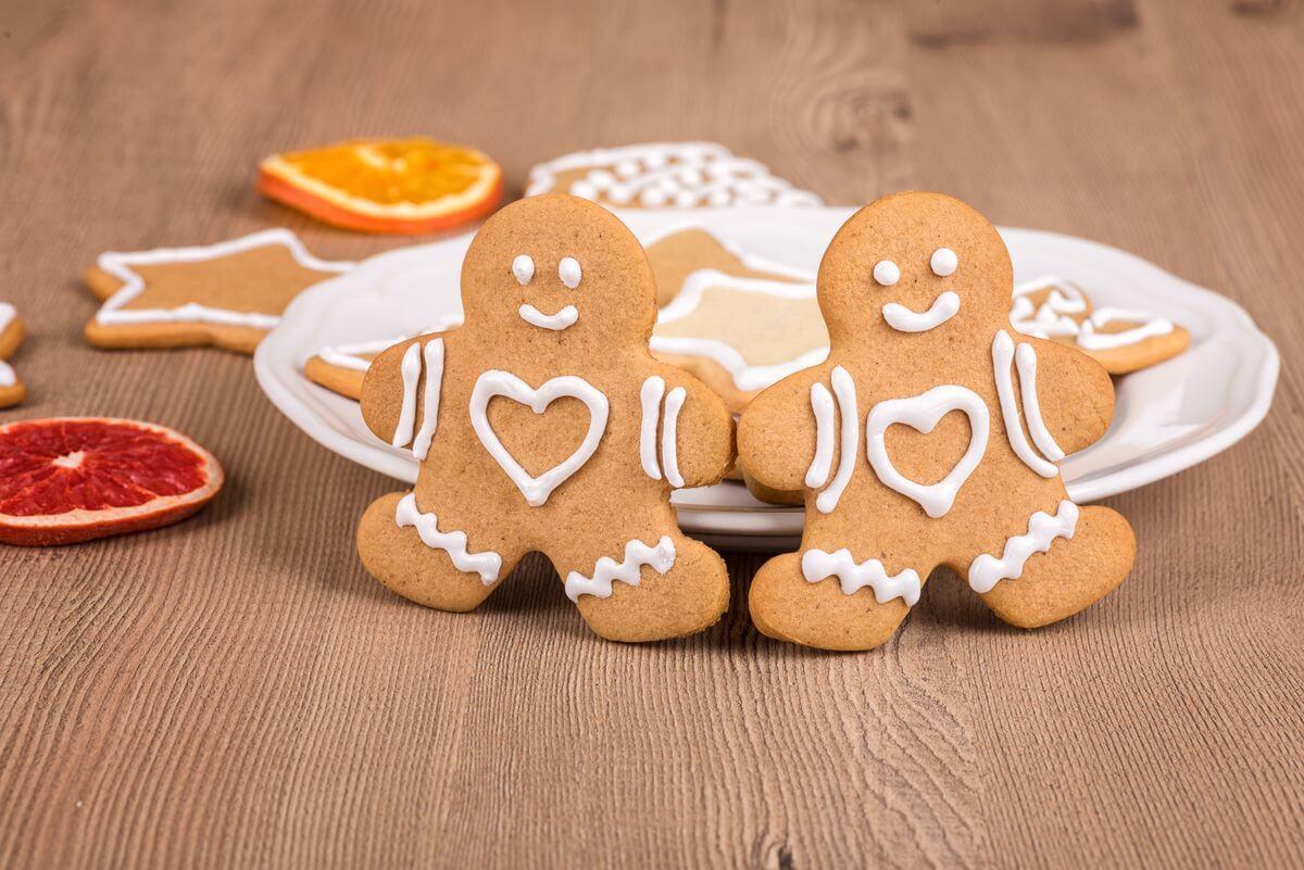 имбирное печенье детям