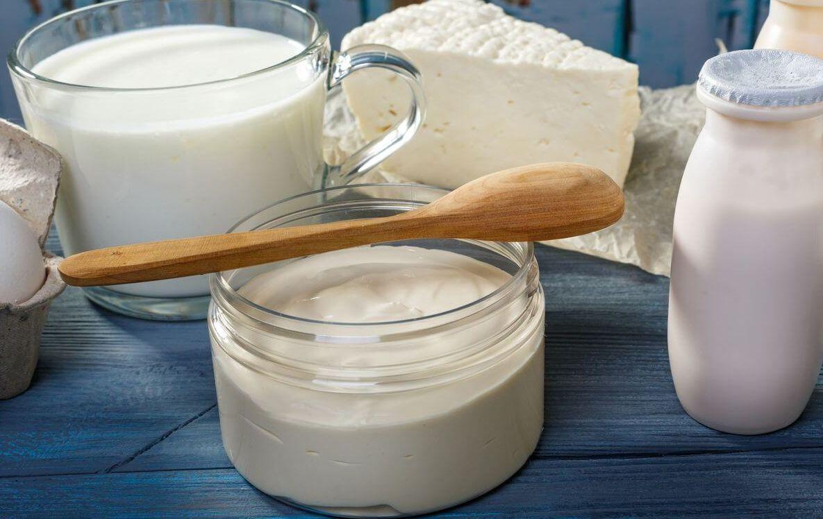 кисломолочные продукты кормящей