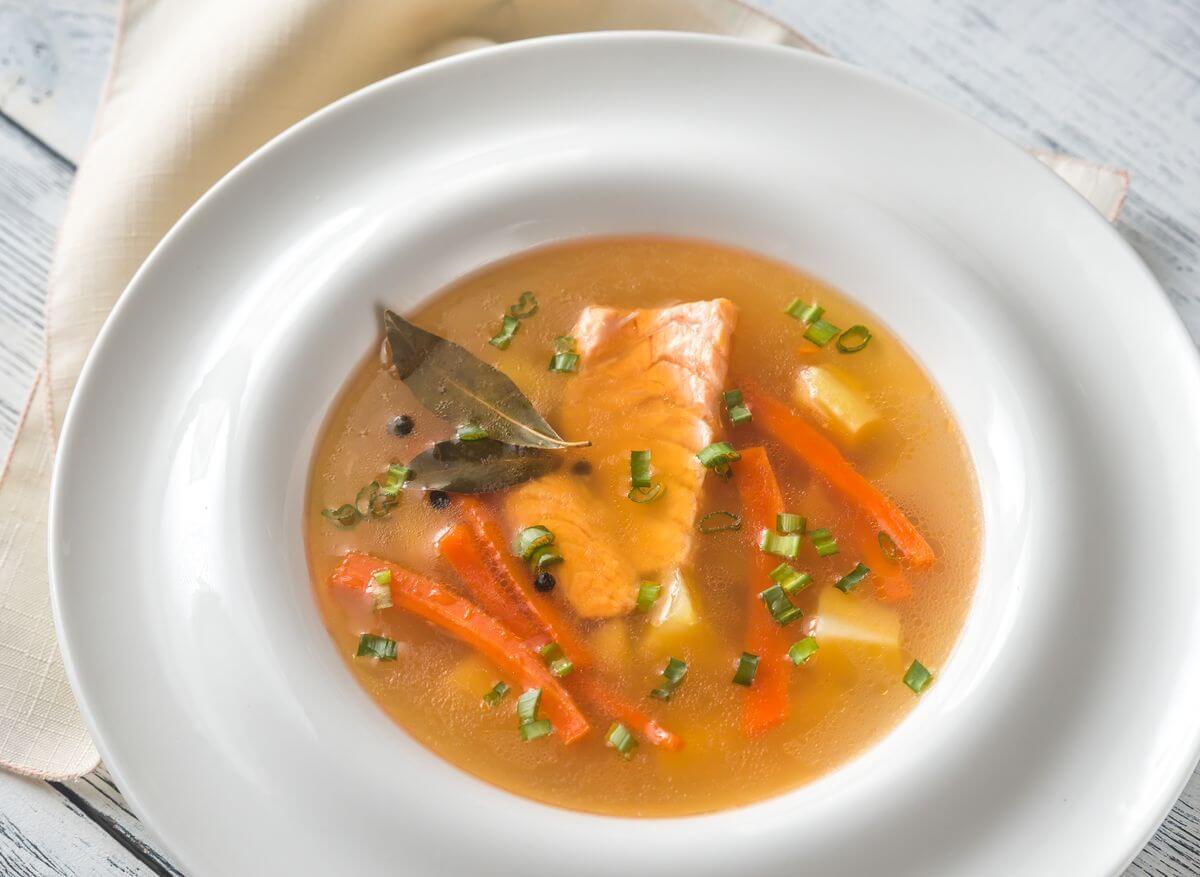 суп +из форели +для ребенка