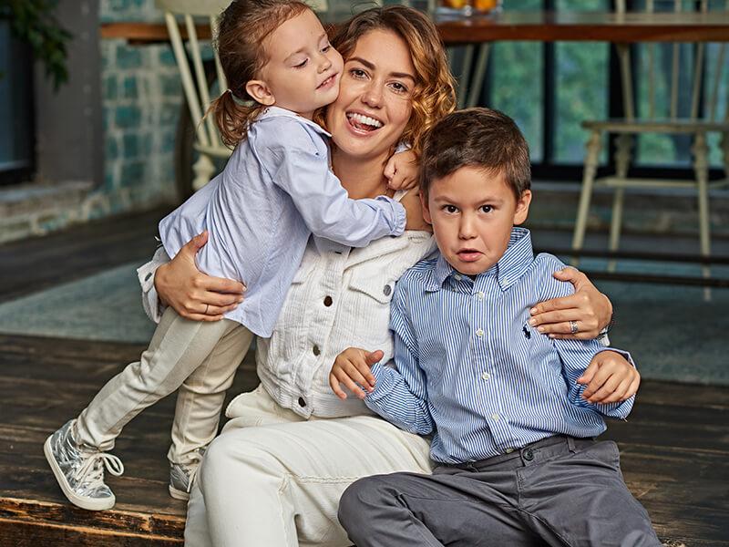 жена прилучного дети