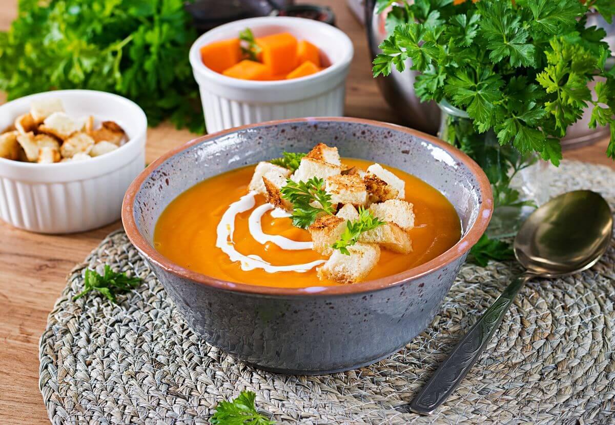 тыквенный суп пюре для ребенка