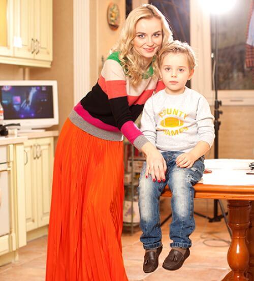 гагарина с сыном фото
