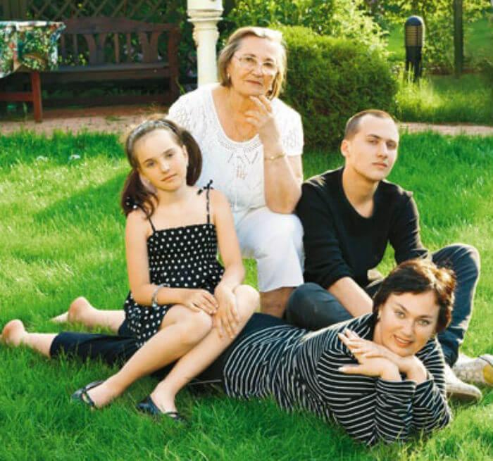дети гузеевой фото