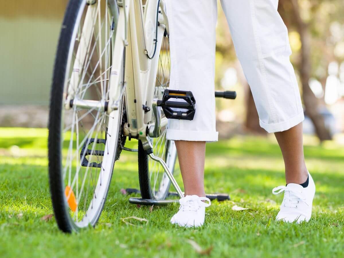 кататься на велосипеде при беременности