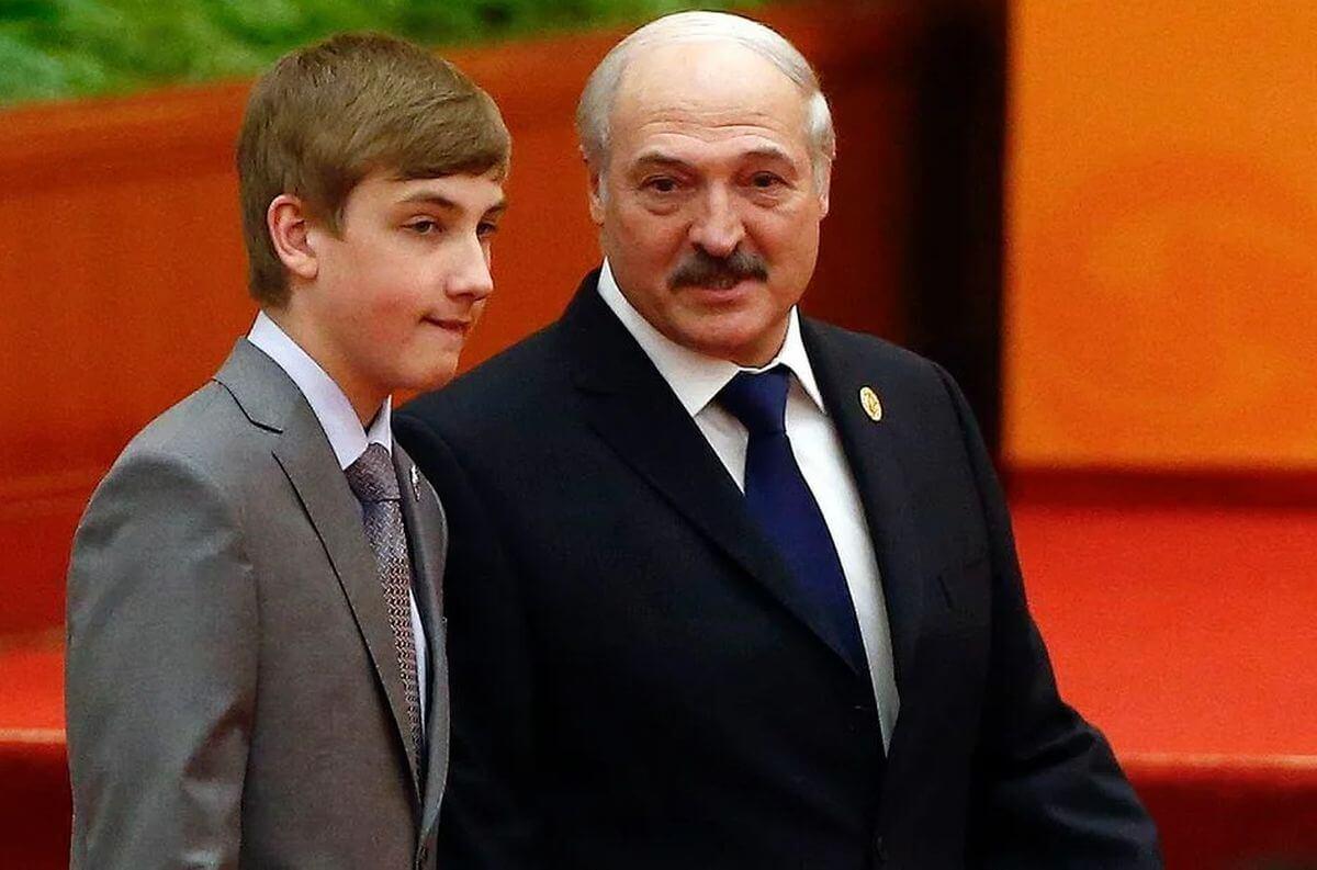 лукашенко с сыном николаем