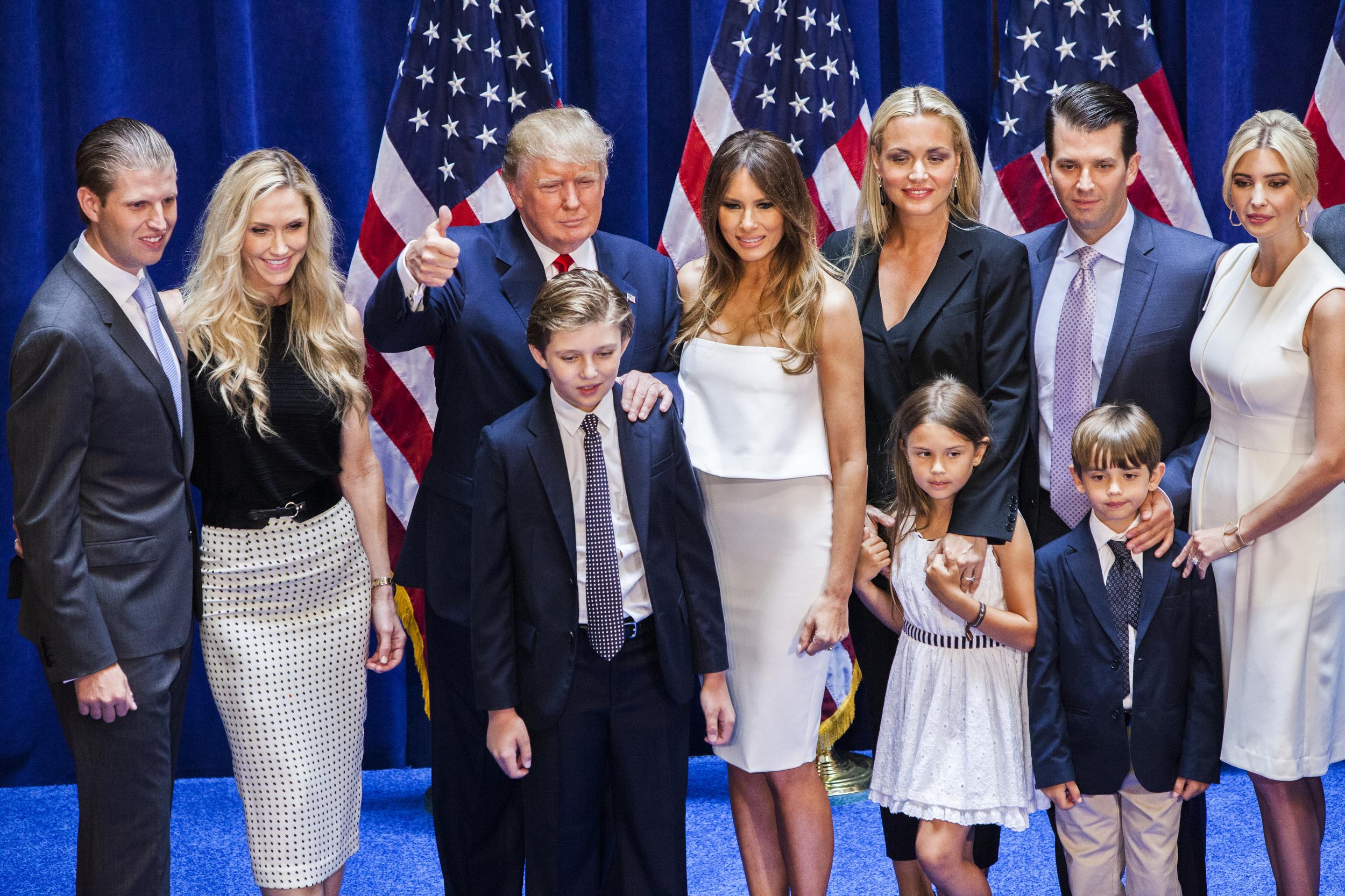 дети трампа