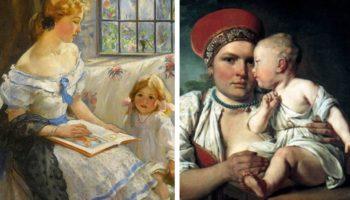 как воспитывали детей крестьяне