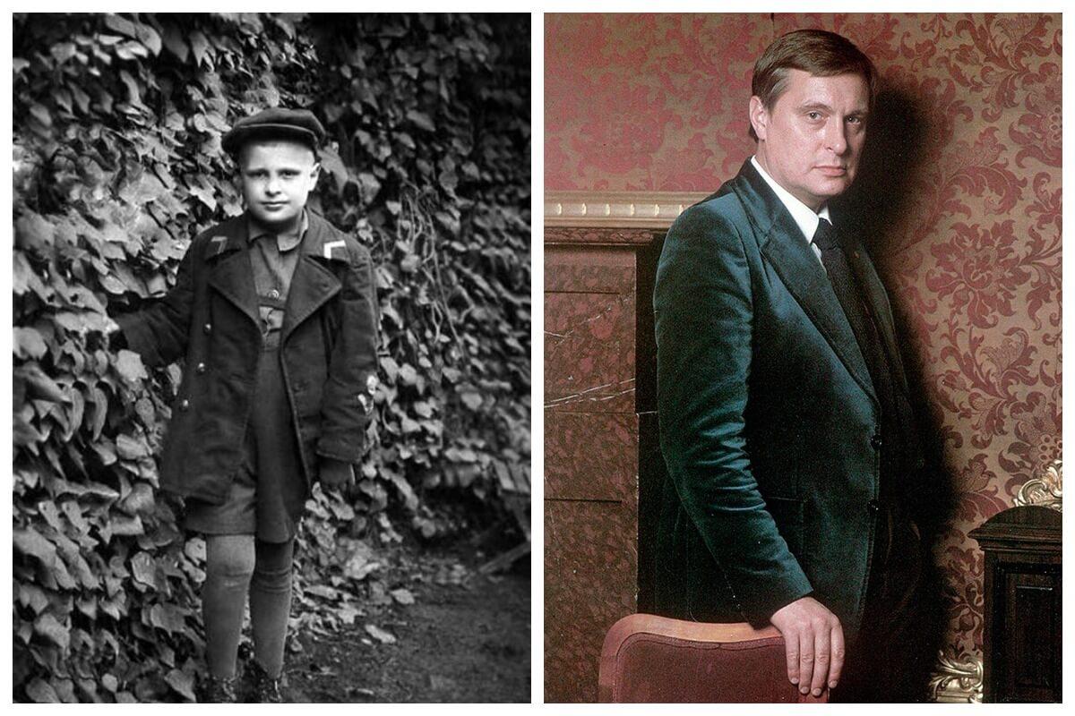 басилашвили в детстве