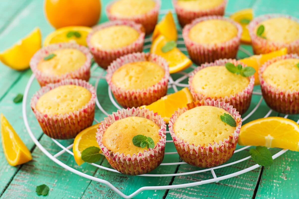 апельсиновые капкейки рецепт
