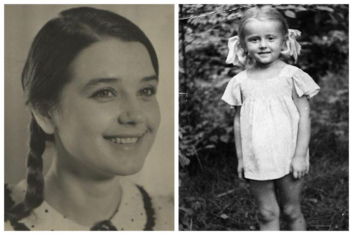 советские красавицы в детстве и сейчас