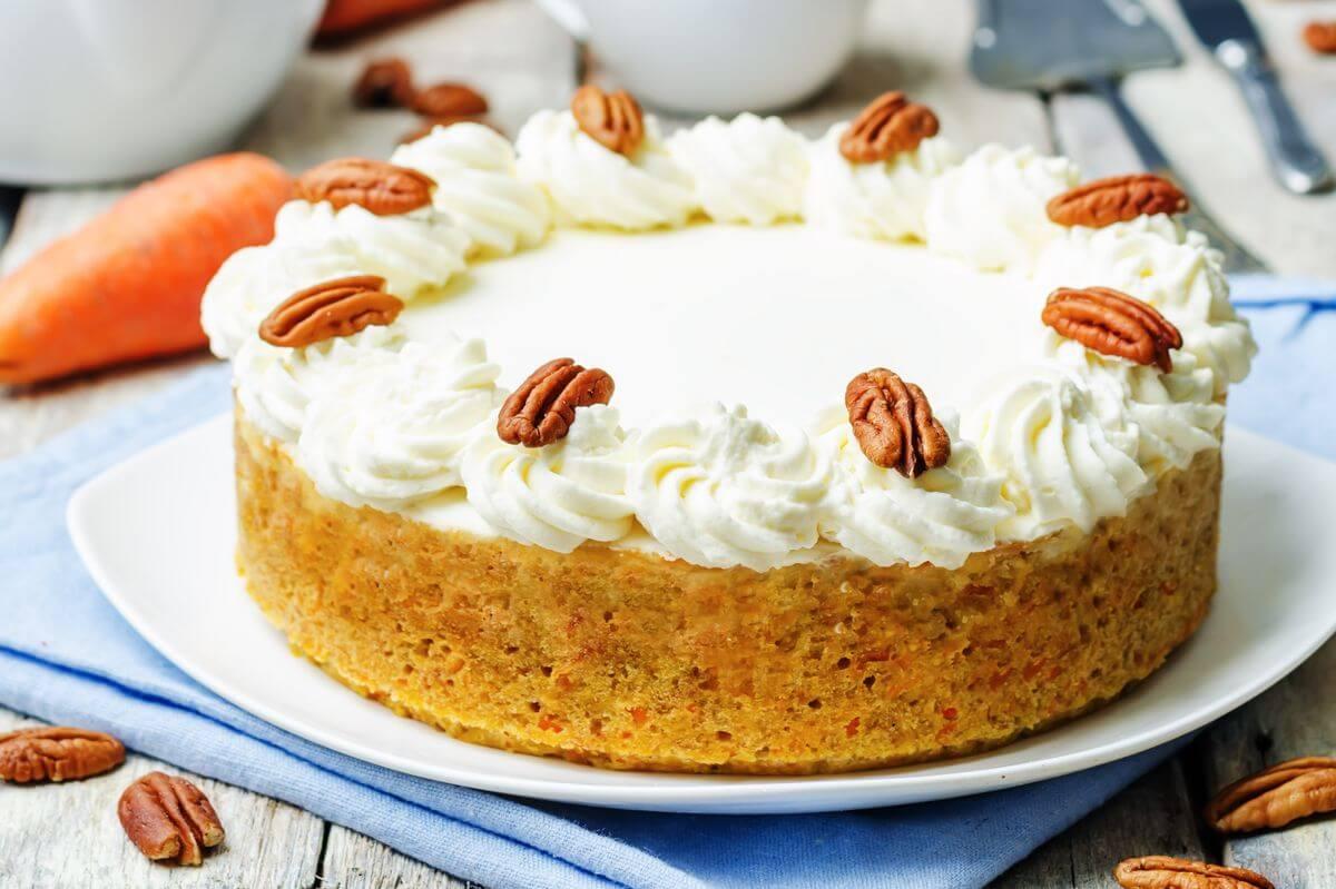 морковный кекс рецепт