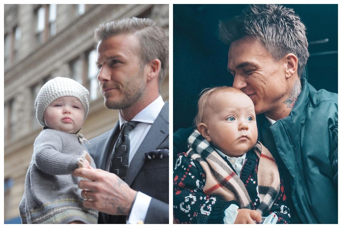 папы с малышами фото