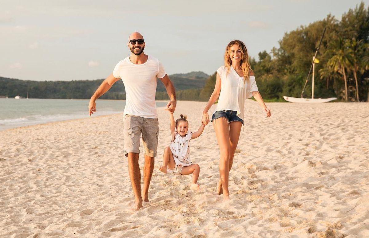 хилькевич с мужем и детьми