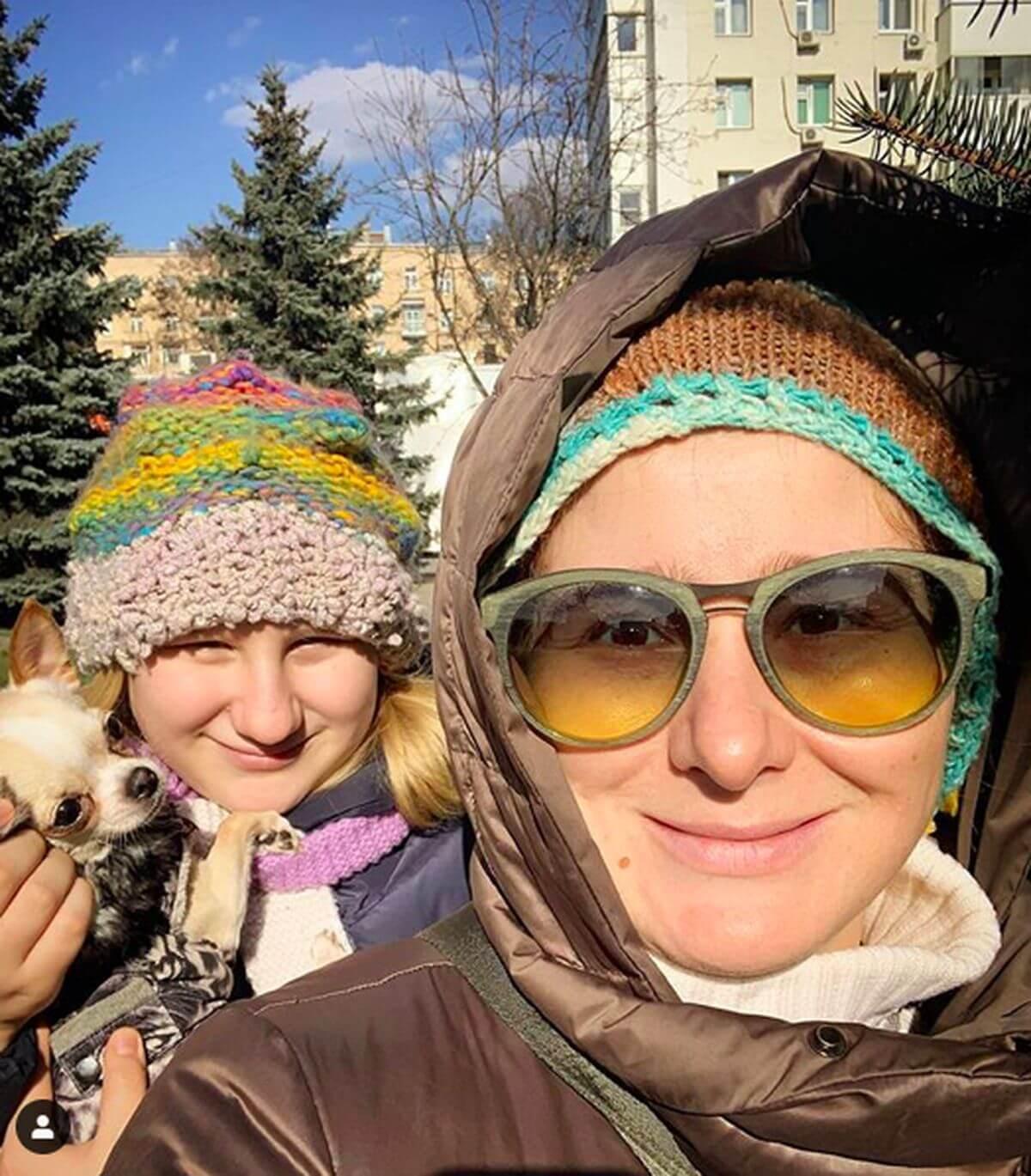 Юлия Куварзина и ее дочка Лиза