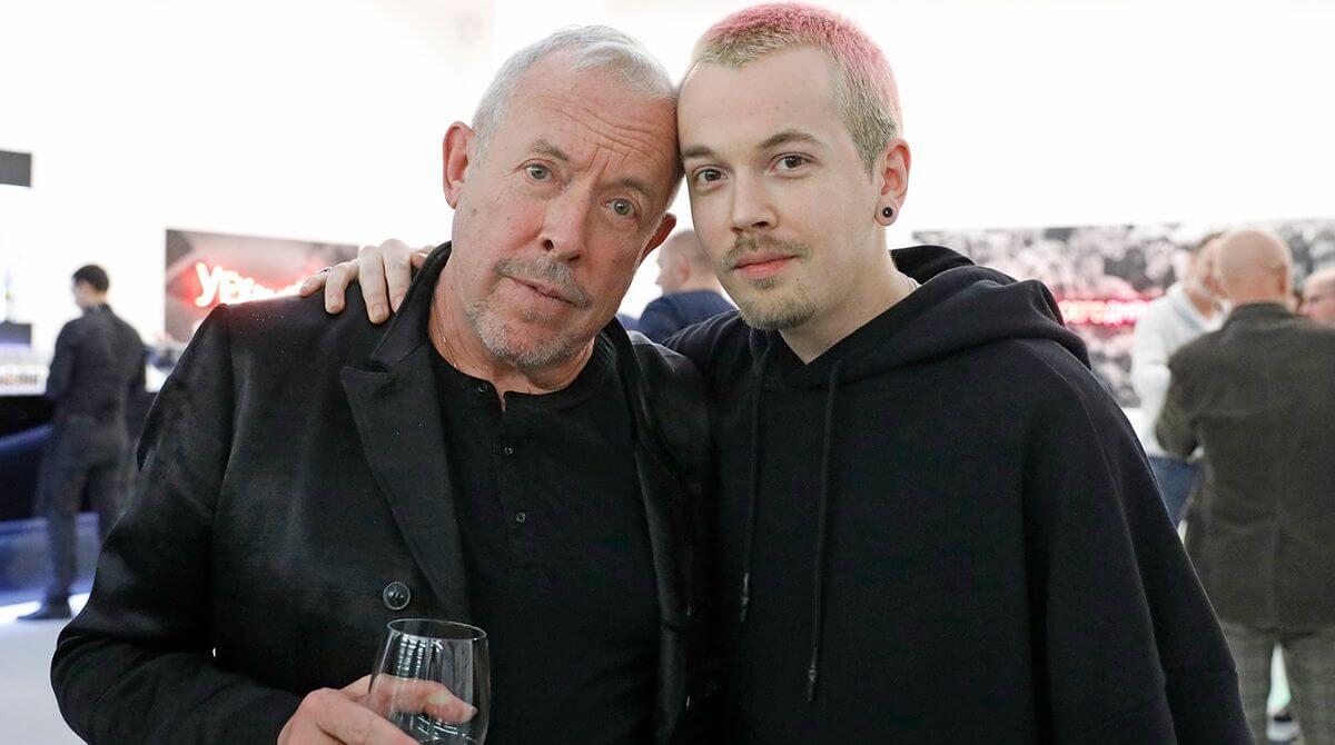 Андрей Макаревич и его сын — Иван Макаревич