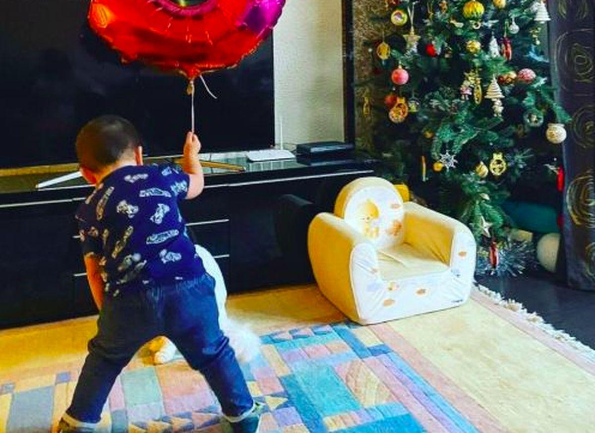 порошина показала фото двухлетнего сына