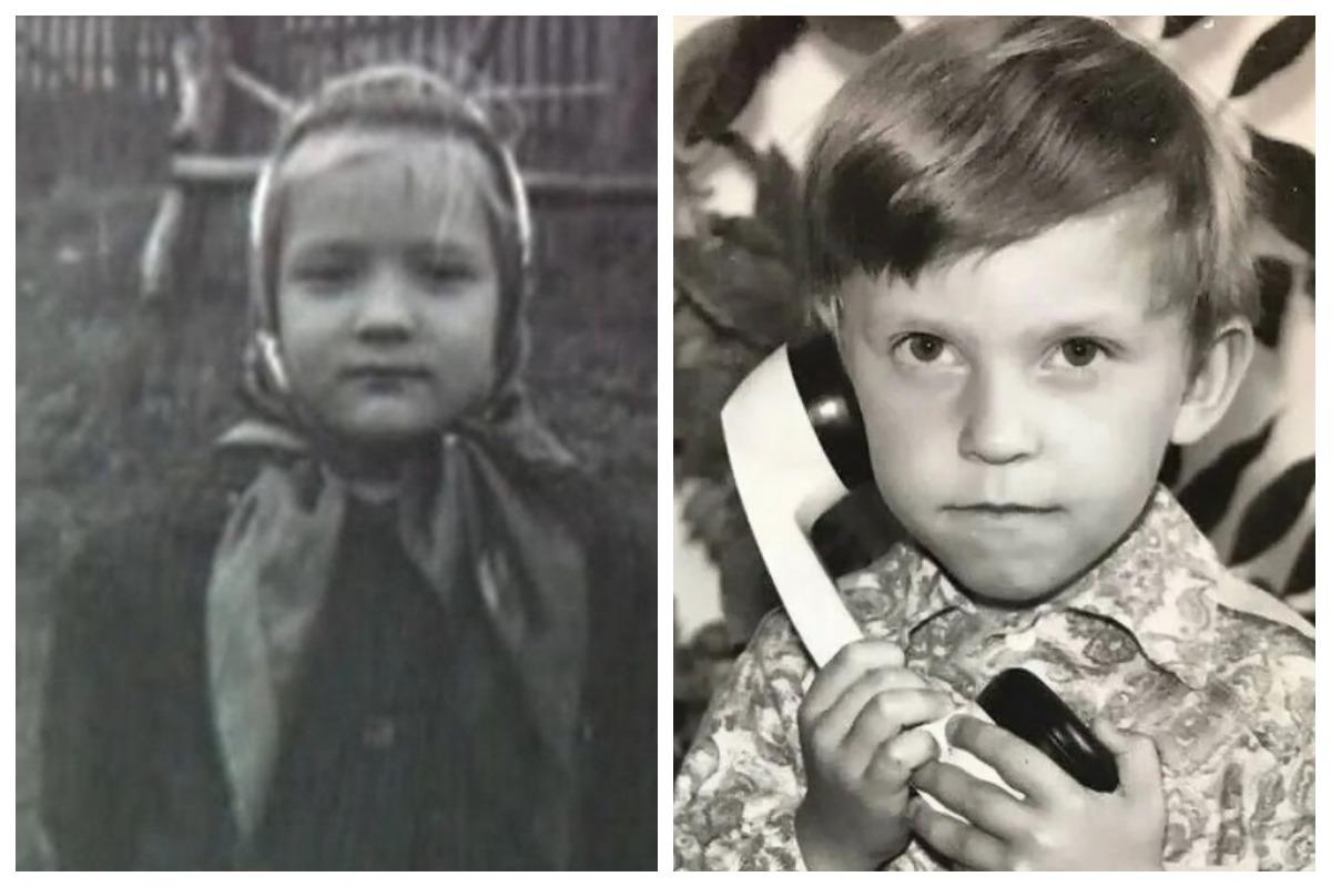 звезды в детстве и сейчас