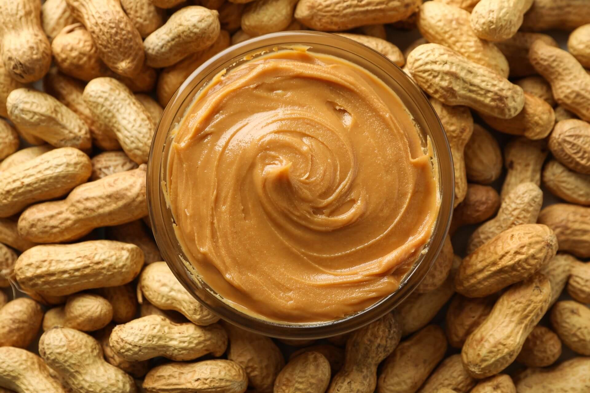 арахисовая паста своими руками