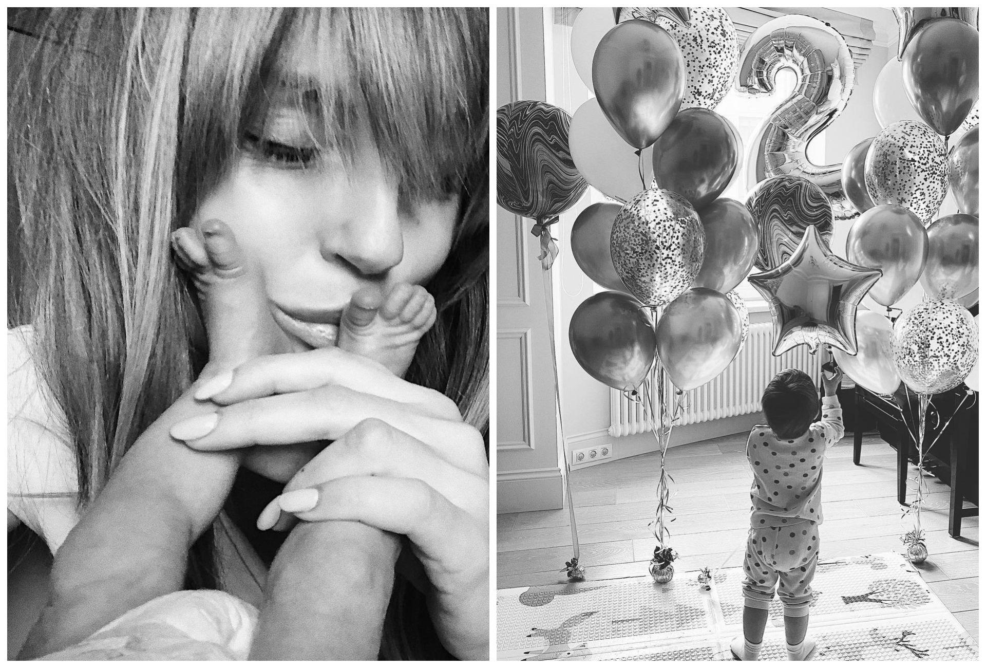 Саша Савельева и Кирилл Сафонов отпраздновали день рождения сына