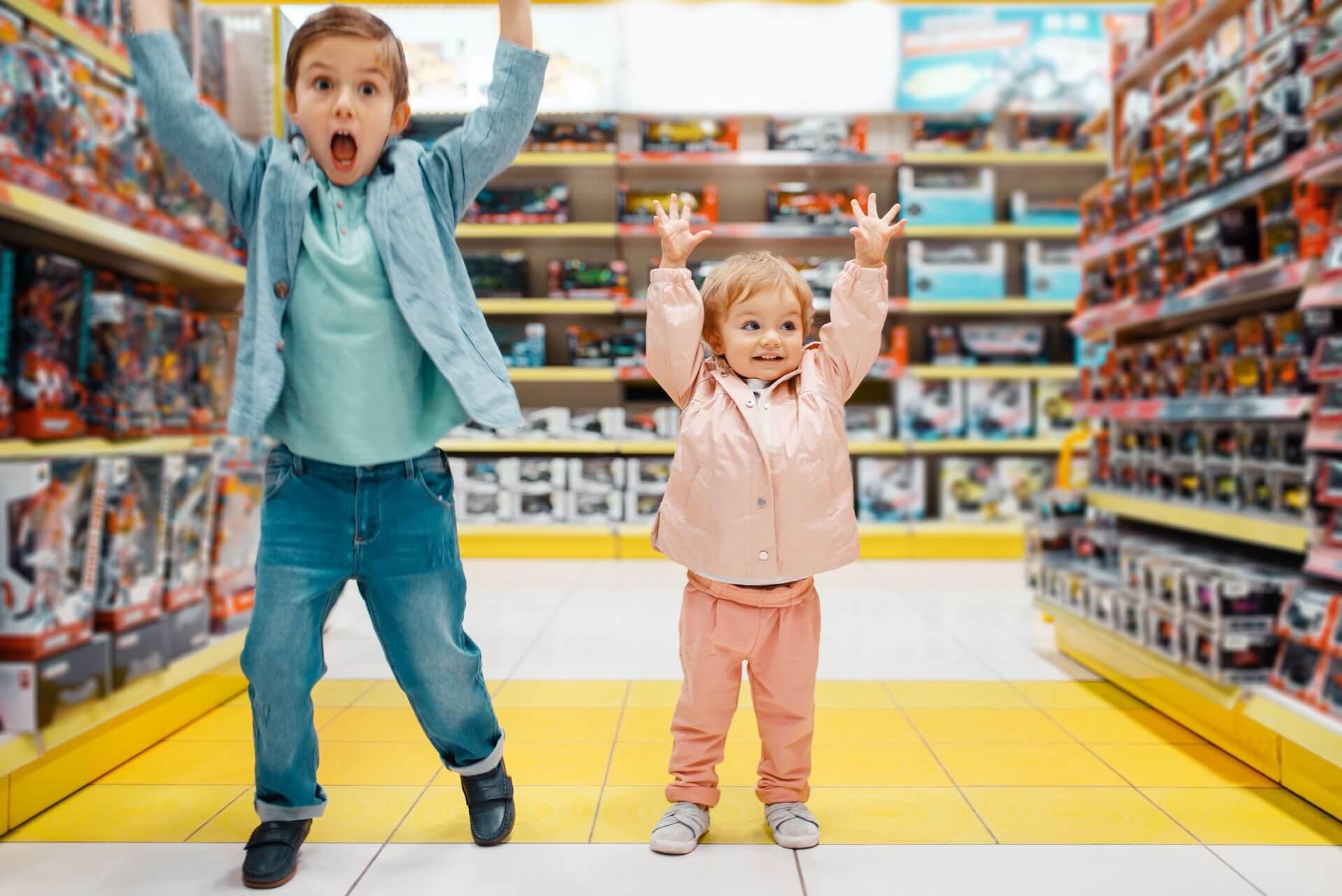 ребенок потерялся в торговом центре что делать