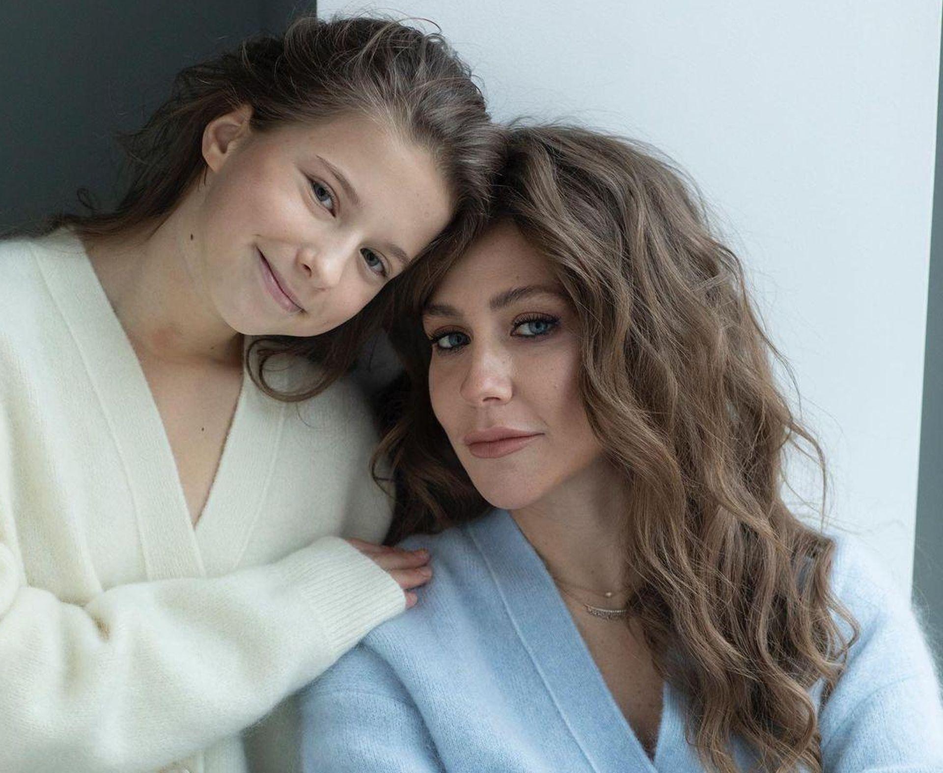 юлия барановская и дочь